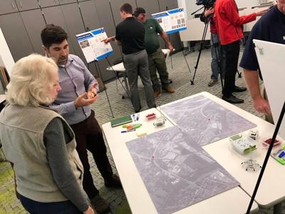 Brown's Station Way public meeting