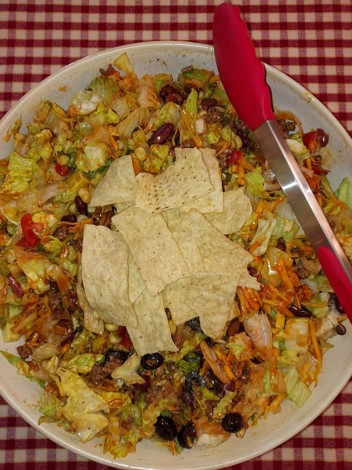 Western Wednesday Dinner Salad