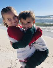 Addie and Baylor Kirchgessner