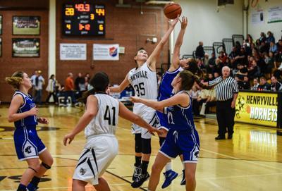 Henryville Charlestown Girls basketball-4