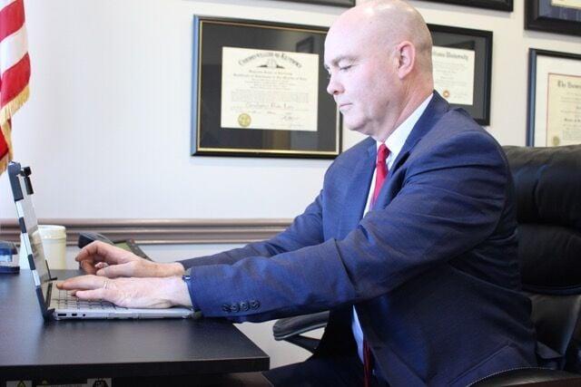Floyd County Prosecutor Chris Lane