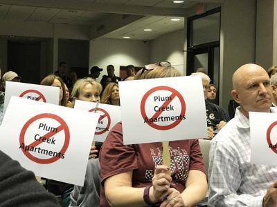 Plum Creek Apartment Protest (copy) (copy)