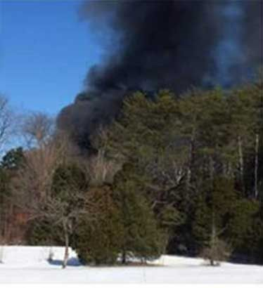 Fire at Wildlife in Need