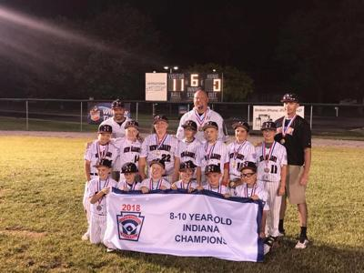 New Albany 9- and 10-year-old All-Star state champs