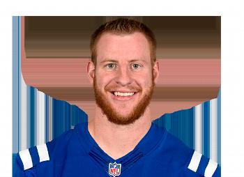 Carson Wentz Colts head shot