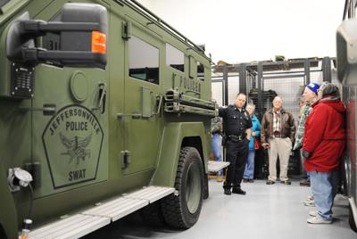 Department of Defense takes back Clark County police equipment