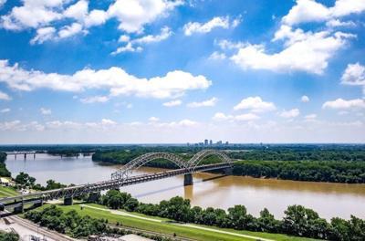 New Albany skyline