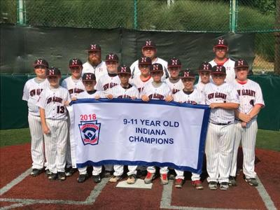 New Albany 11-year-old All-Star state champs