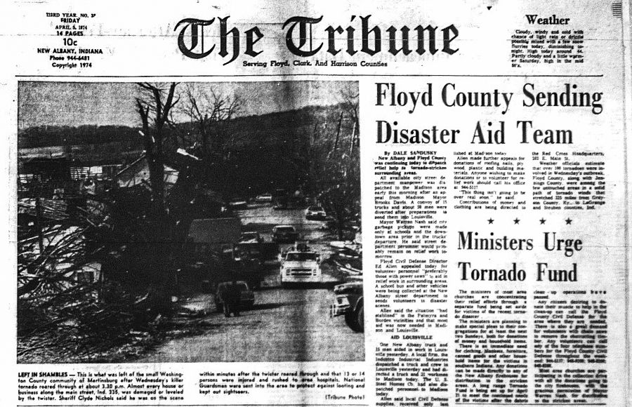 COLUMN: 1974 'super outbreak' of tornadoes changed lives