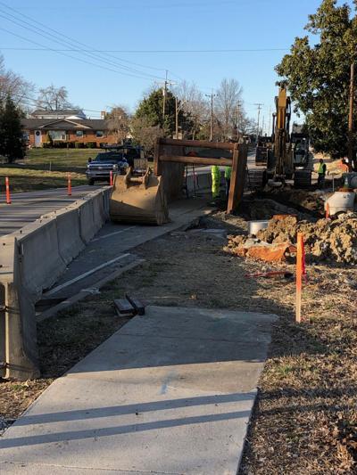 Grant Line Road work