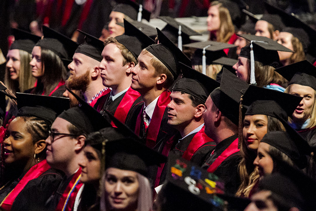 PHOTO GALLERY: CAPS AND GOWNS: IUS celebrates graduates at ceremony ...