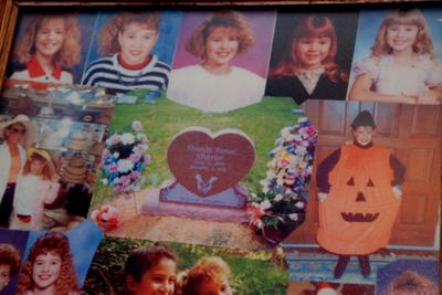 Sharer memorial collage