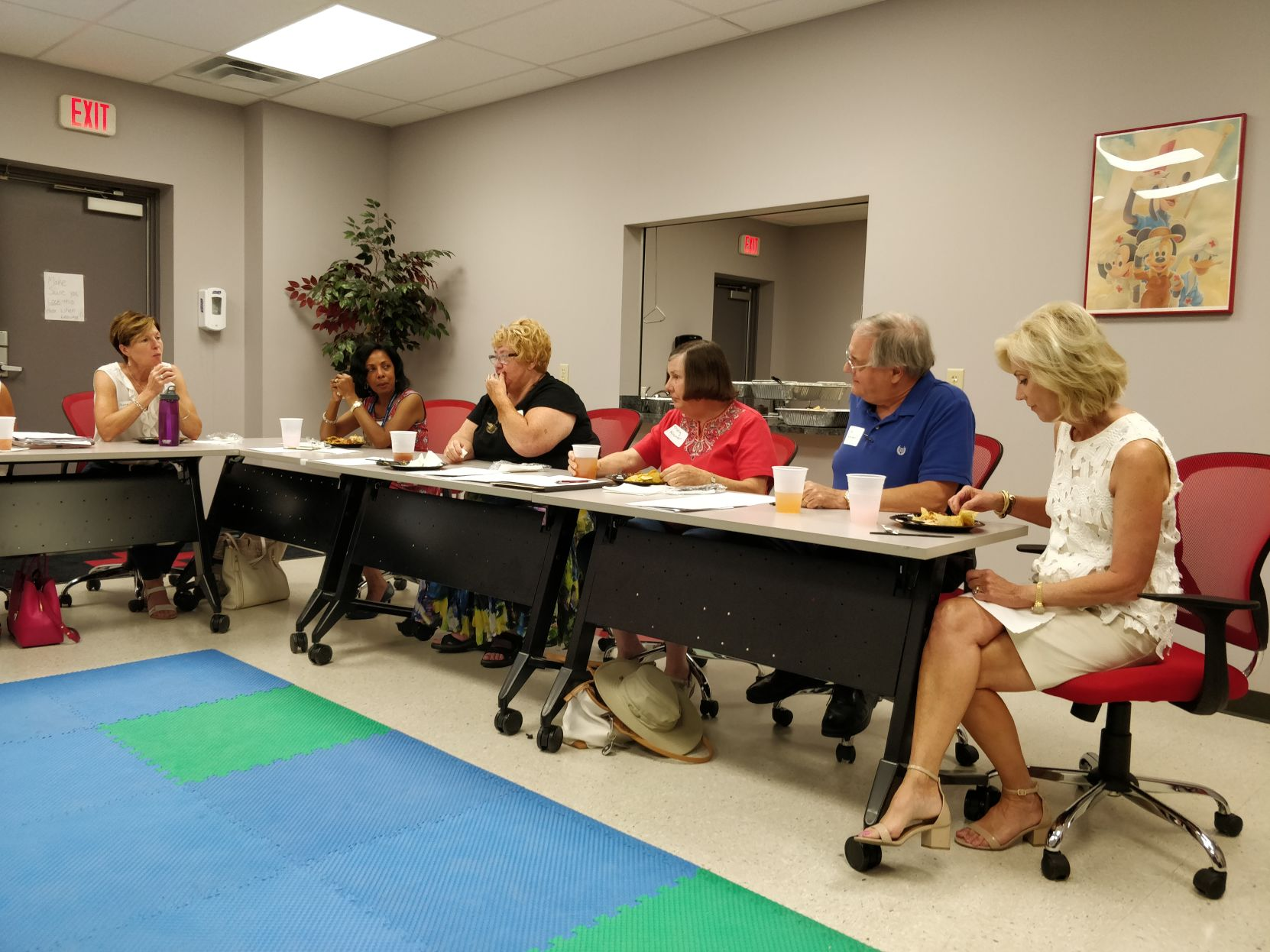 A luncheon held in Georgetown Friday got