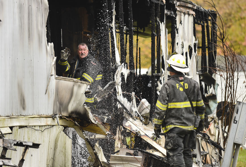 Fatal Mobile Home Fire 1