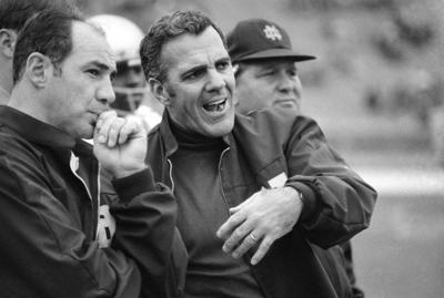 79e6cd14bdd NOTRE DAME FOOTBALL: Legendary coach Parseghian dies at 94 | Sports ...