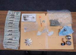 ISP drug arrest