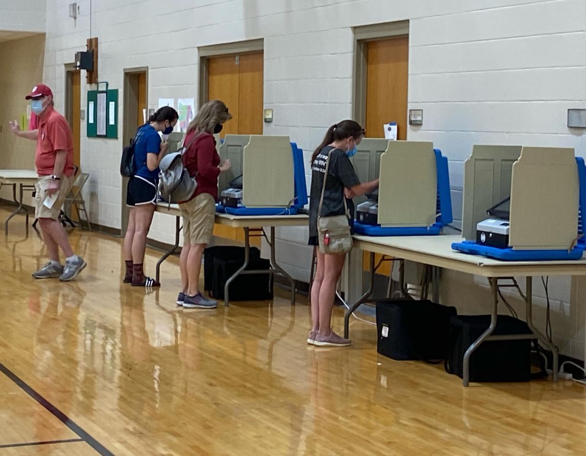 Floyd Central voting