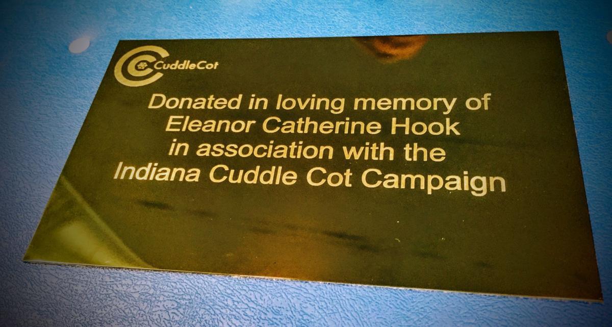 CuddleCot plaque