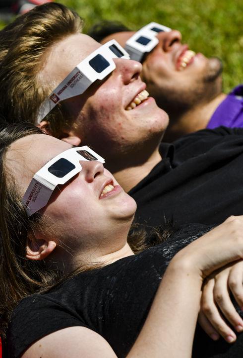 solar eclipse - IUS-2