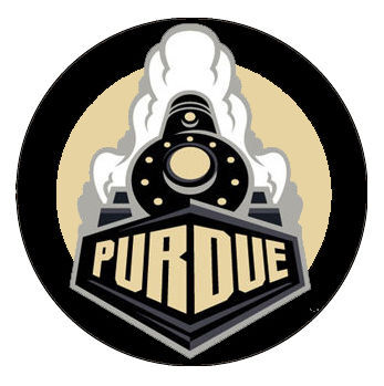 Purdue Boilermakers black logo