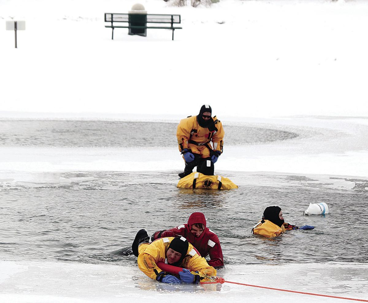 Ice rescue front page