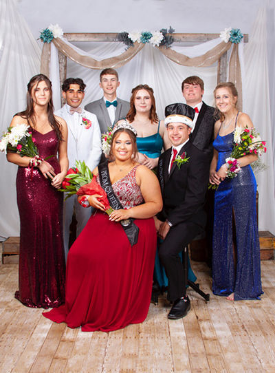North White Prom Court
