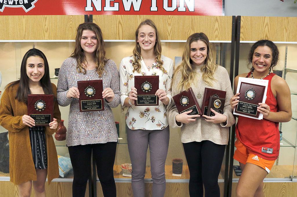 SN varsity VB awards