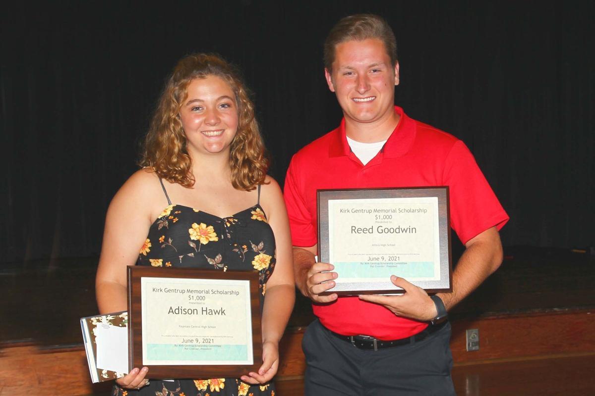 Gentrup Scholarship winners
