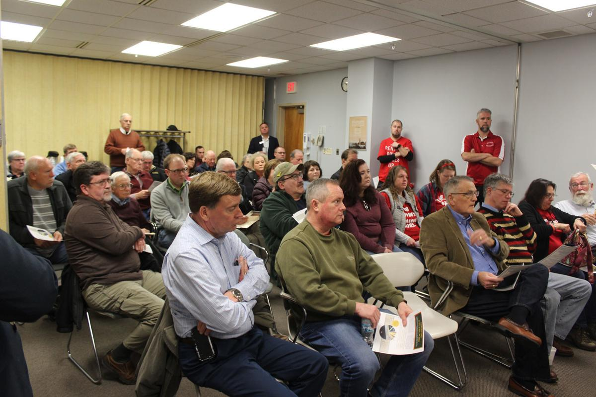 Crowd fills conference room at FHR