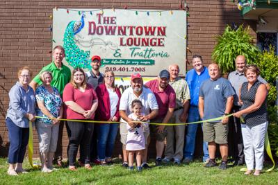 Downtown Lounge ribbon-cutting