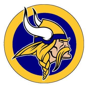 North White Vikings logo