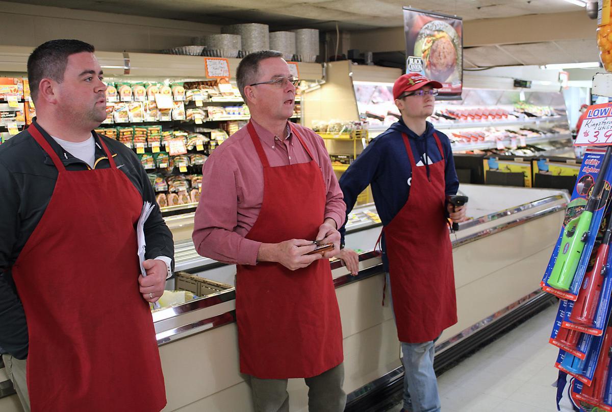 Wallman's Quality Foods staff