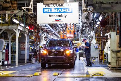 Subaru Ascent Production Begins At Sia Lafayette Leader