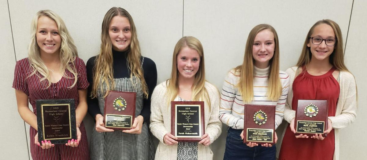 RCHS girls CC awards