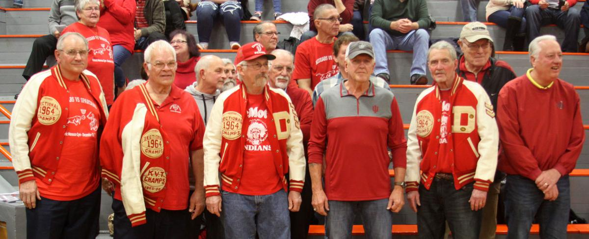 1964 DeMotte Indians sectional champs