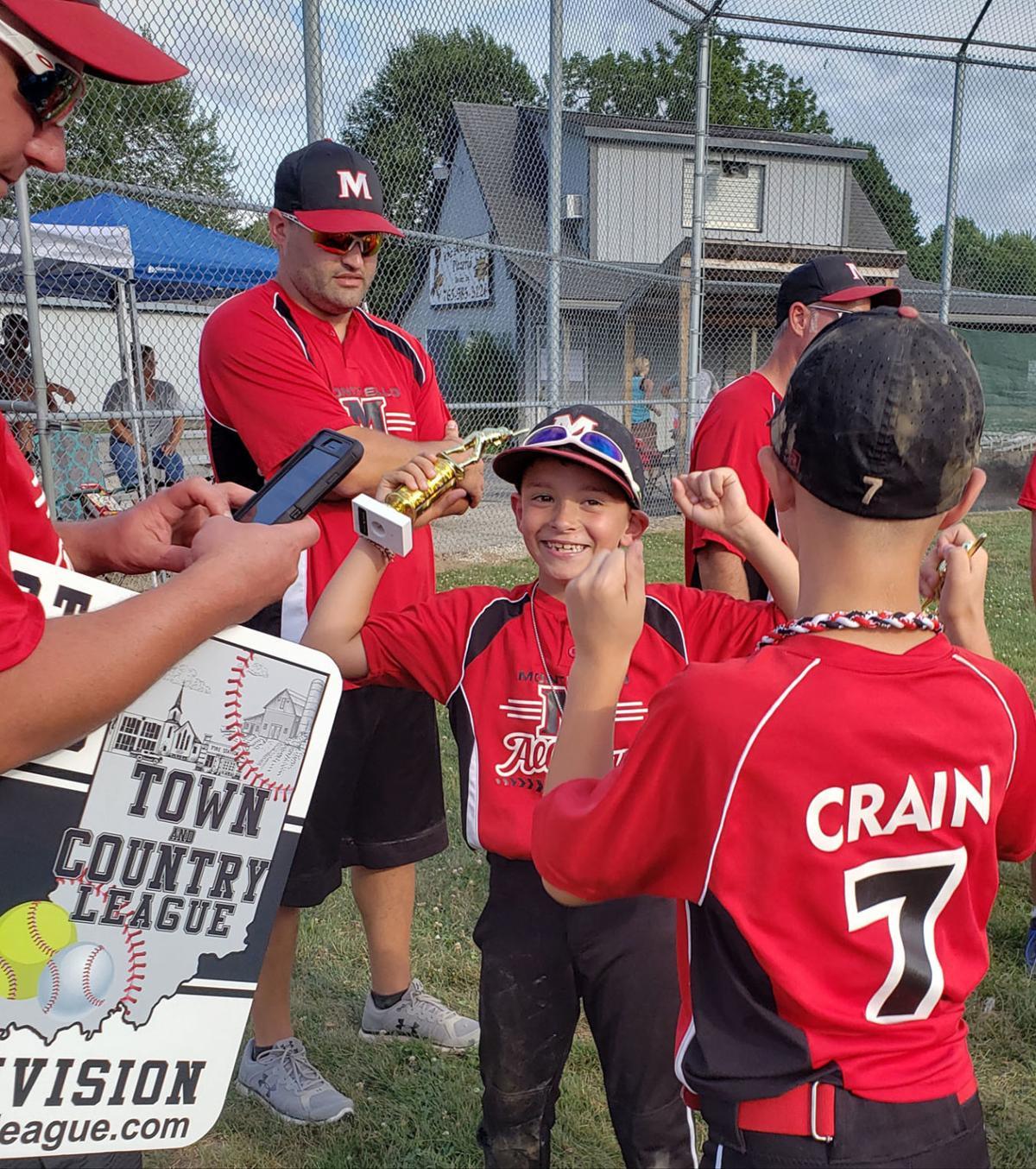 Monticello 8U All-Stars Win District Title