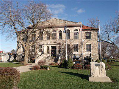 Newton County Courthouse in Kentland