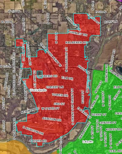 City of West Lafayette - City Boundary Map