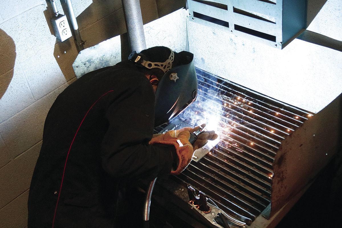 Gonzalo welding