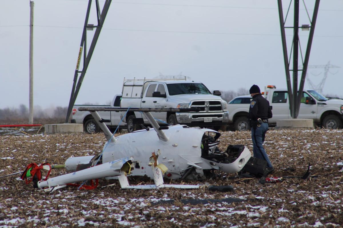 Indiana white county idaville - Helicopter Crash