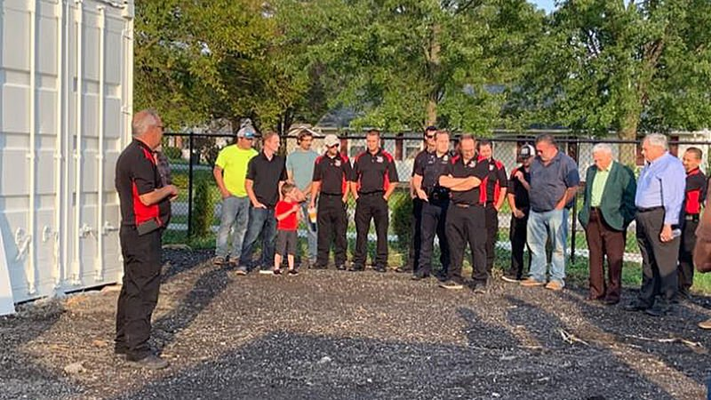 City, state officials attend dedication