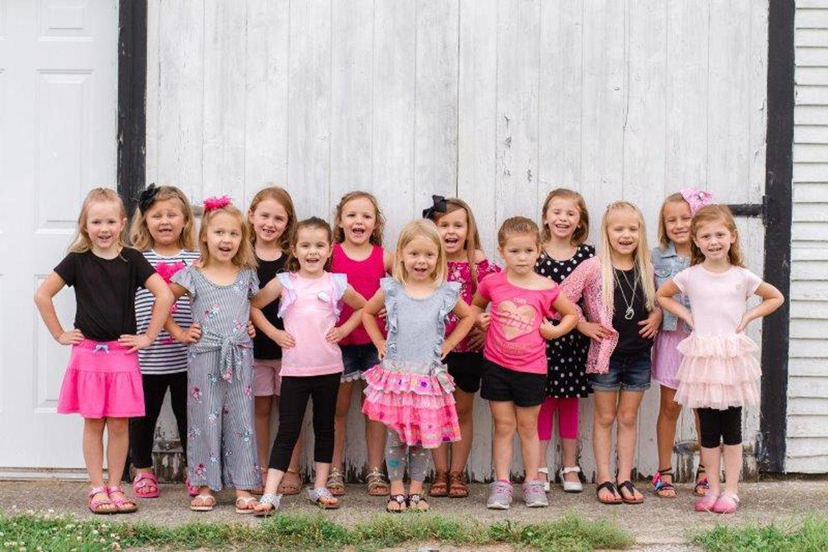 Jasper County Fair Princess Pageant candidates