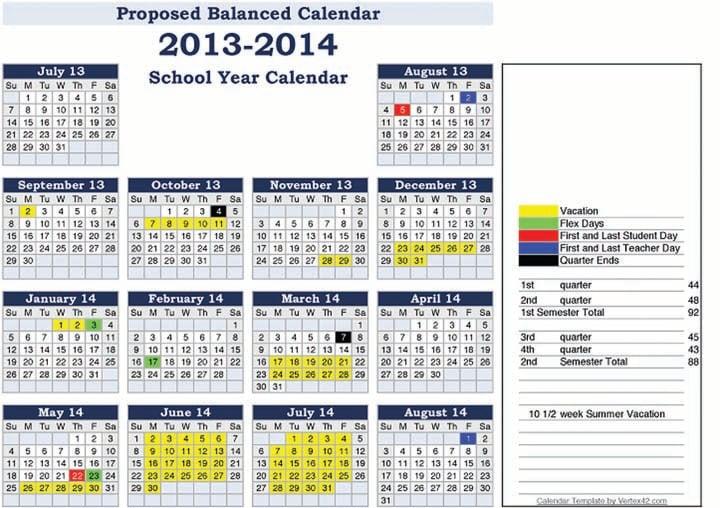 Attica Schools Adopt Balanced Calendar For 2013 2014 Session