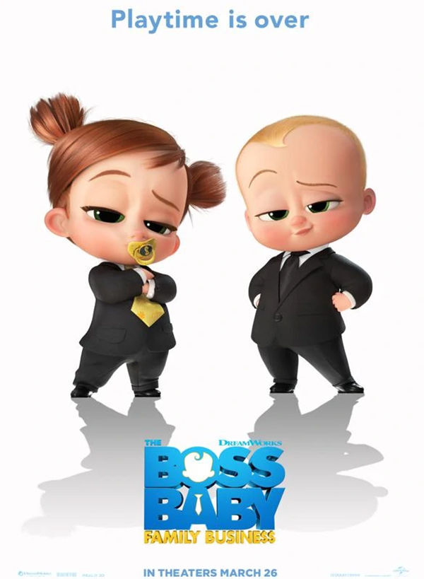 Boss Baby Family Business movie poster