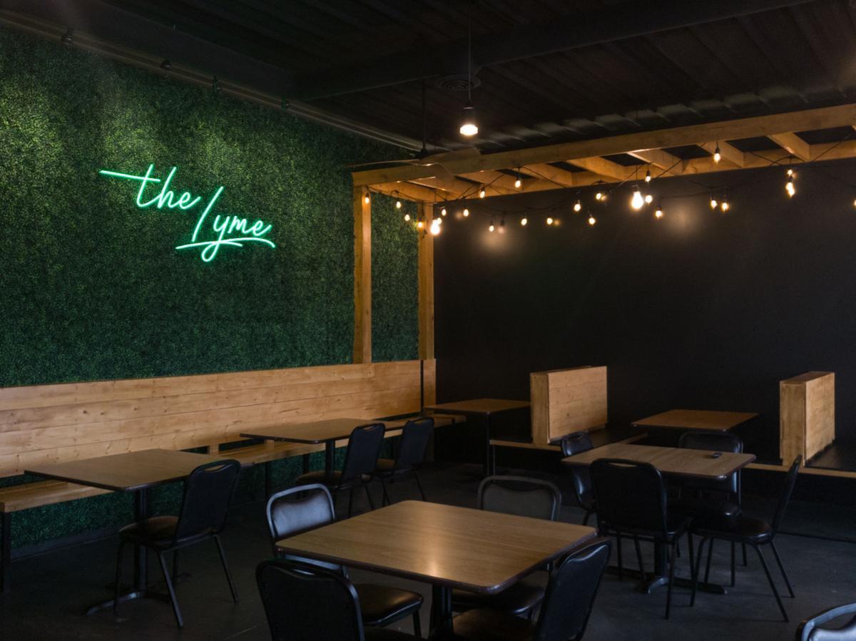 """The Lyme"" restaurant"