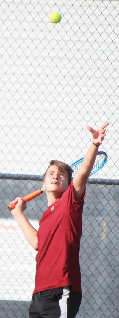 Moore falls at No. 1 singles