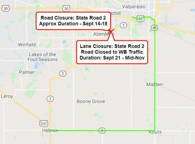 SR 2 closure