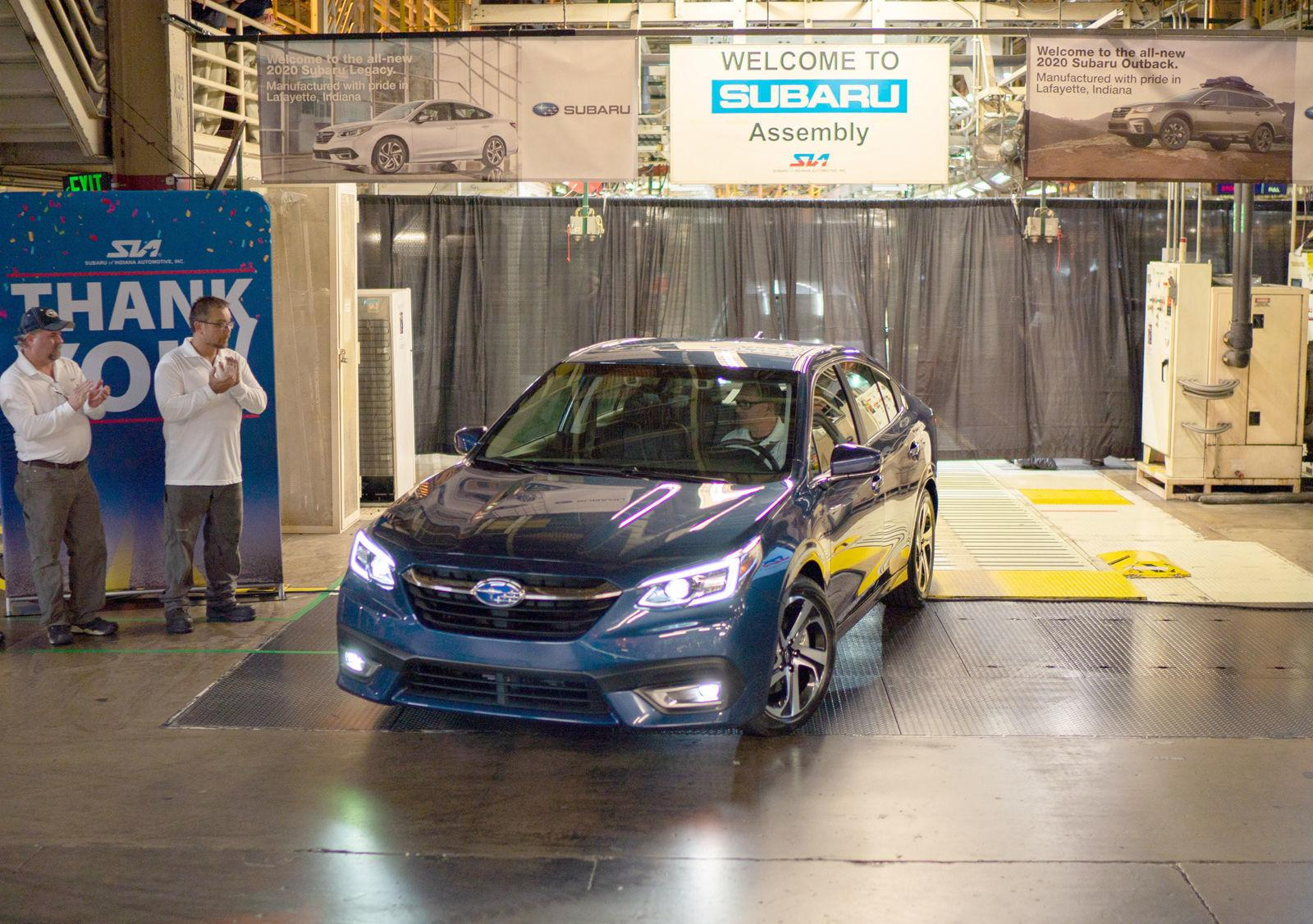 Subaru of Indiana debuts 2020 Legacy, Outback models in Lafayette