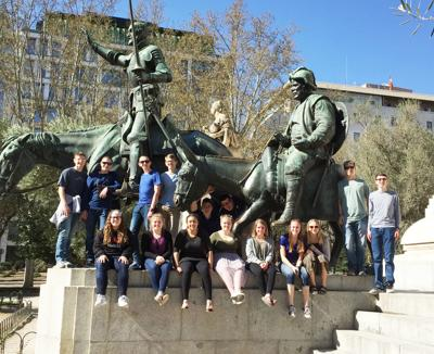 RCHS students visit Madrid