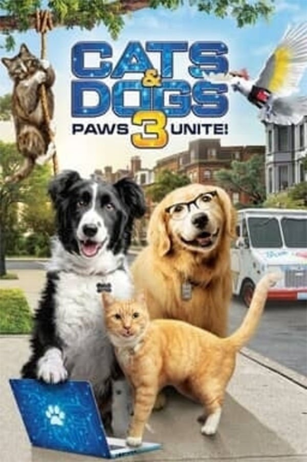 Cats and Dogs 3 movie poster